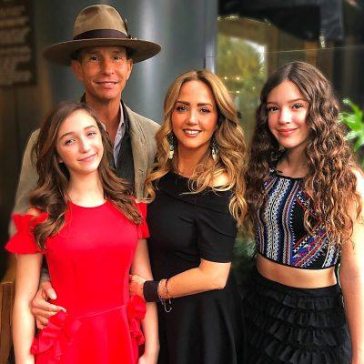 Apoya Andrea Legarreta la pasión actoral de sus hijas