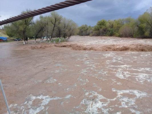 Cerrado el vado que cruza el Río Sonora tramo Arizpe – Bacoachi