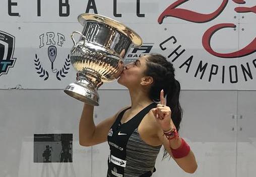 Se corona Paola Longoria por novena ocasión en el US Open 2018