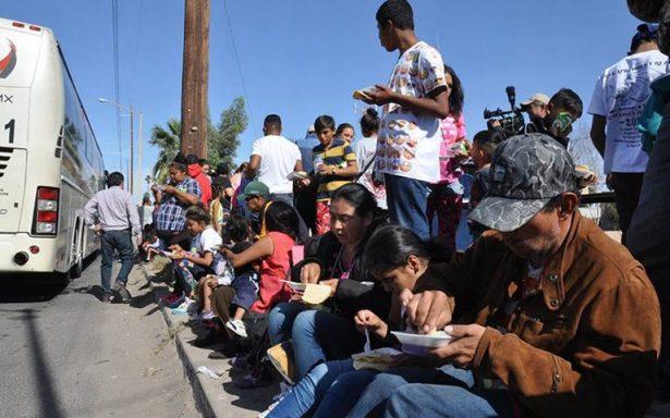 México pide apoyo a ONU para atender caravana de migrantes