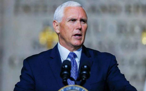 Mike Pence acusa a Venezuela de haber financiado la caravana de migrantes hondureños