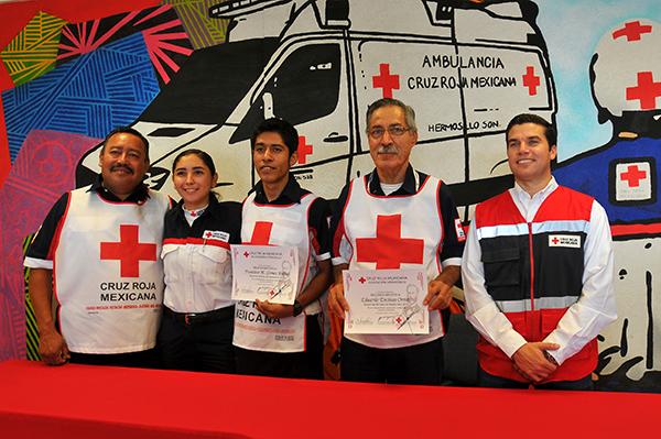 Destacan juventud y la experiencia en Cruz Roja