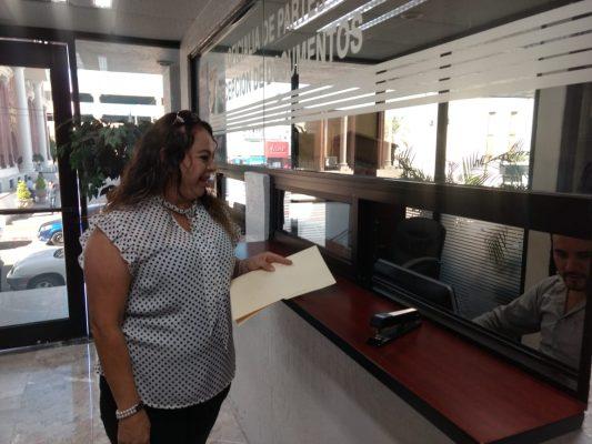 Registra Judith Amalia Padilla su candidatura a Fiscal