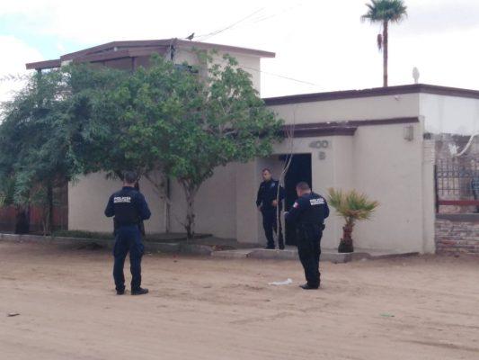 Balean la casa del supervisor de la Policía Municipal