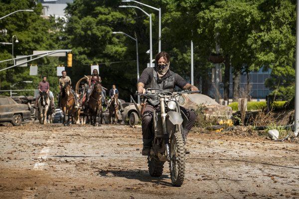 Presentes suspenso y drama en The Walking Dead
