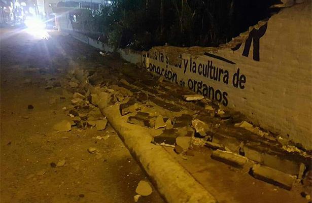 Sismo de 7.0 grados en Chiapas deja daños materiales