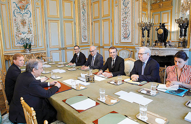 El Presidente Emmanuel Macron revela hoy la formación de su gabinete