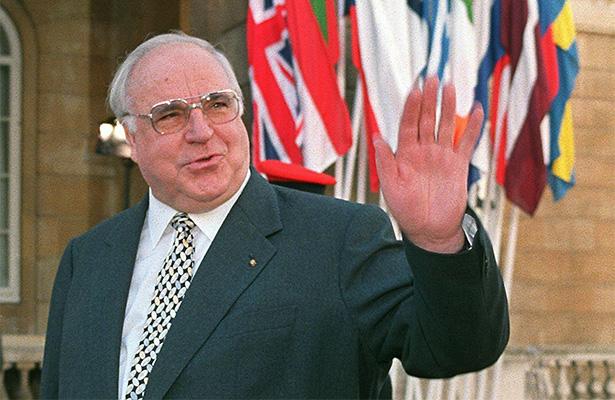 Fallece Helmut Kohl, el canciller de la reunificación de Alemania