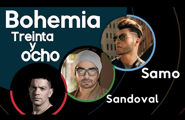 Samo, Sandoval y Yahir, juntos por primera vez