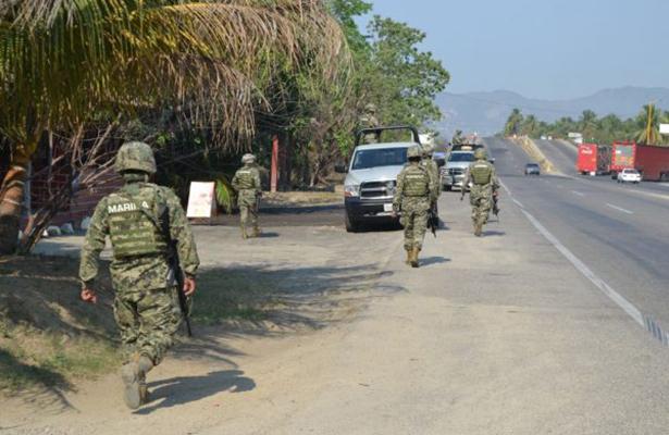 Refuerza la Marina Armada de México operativos en Acapulco