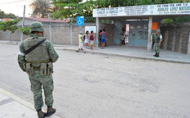 Brindarán seguridad especial a más de 250 planteles educativos en Acapulco