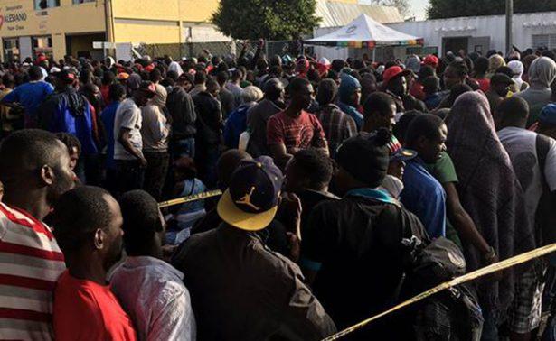 Abandonados a su suerte, albergues para haitianos