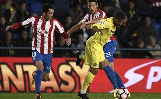 Villarreal derrotó por 3-1 al Sporting de Gijón