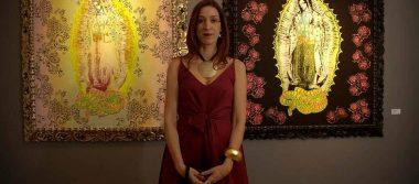 """La pintora Kylla Piqueras presenta su reciente exposición """"El jardín de los sueños"""""""
