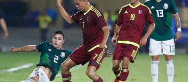 Se abolla la corona centroamericana: Venezuela vence 2-1 al Tri sub-21