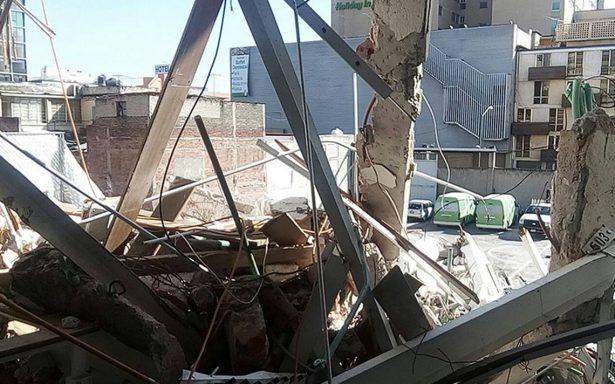 Así será la demolición del edificio en Emiliano Zapata 56