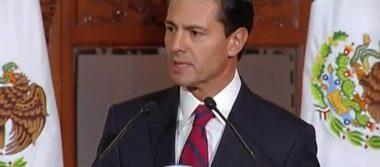 Lamenta Peña Nieto fallecimiento del padre del director de Pemex