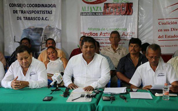 """Transportistas realizar operativos legales contra el """"pirataje"""""""