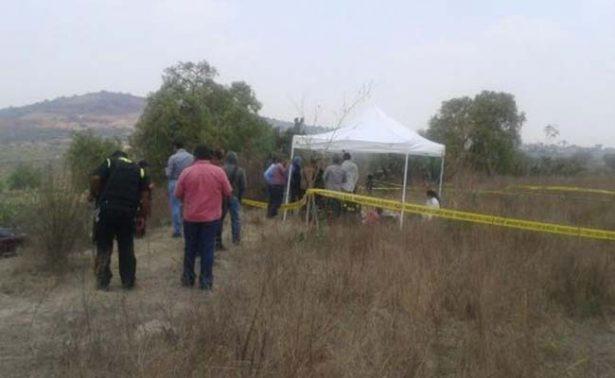 Descubren fosa clandestina en Teotihuacán