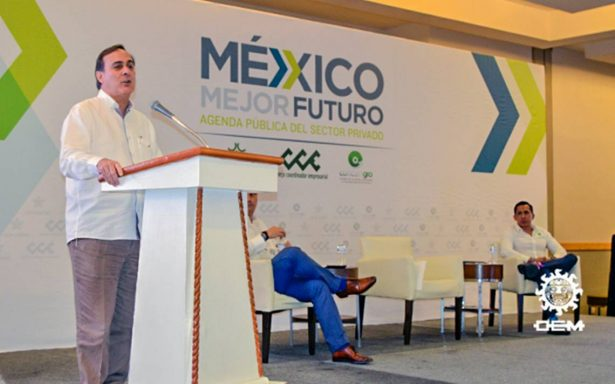 Seguridad es un tema toral en el país: Juan Pablo Castañón