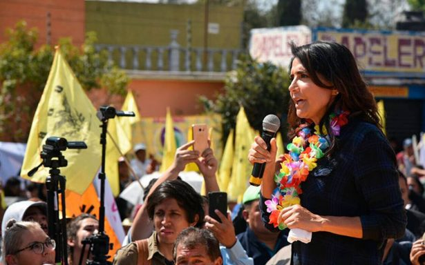 Barrales asegura que le negaron uso de plaza en Tláhuac de Morena