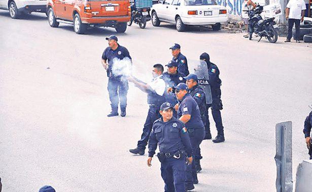 Policía desbloquea carretera Nacajuca-Villahermosa