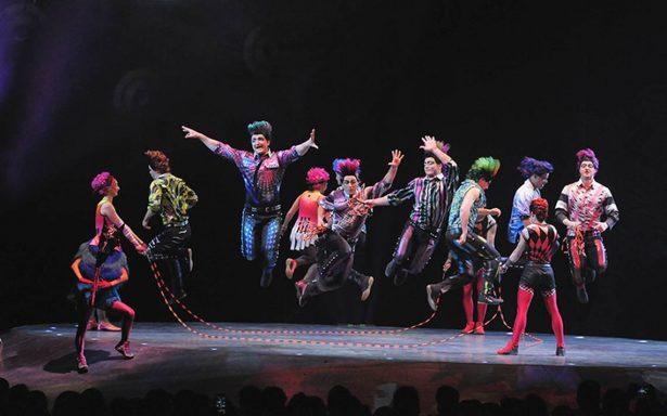 Inició el espectáculo Sép7imo día – No descansaré, del Cirque du Soleil
