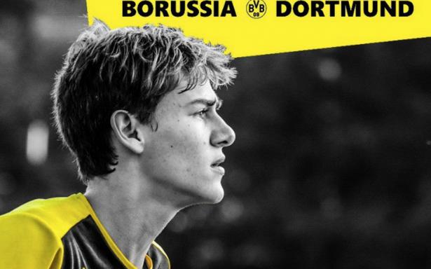 ¡Hace historia! Borussia Dortmund recluta a joven mexicano