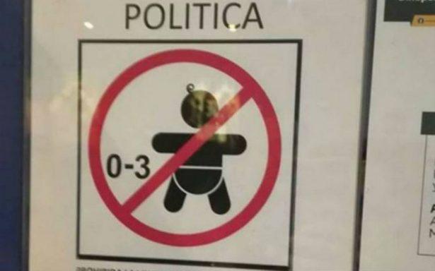 ¿En verdad Cinépolis prohibió la entrada a menores de tres años?