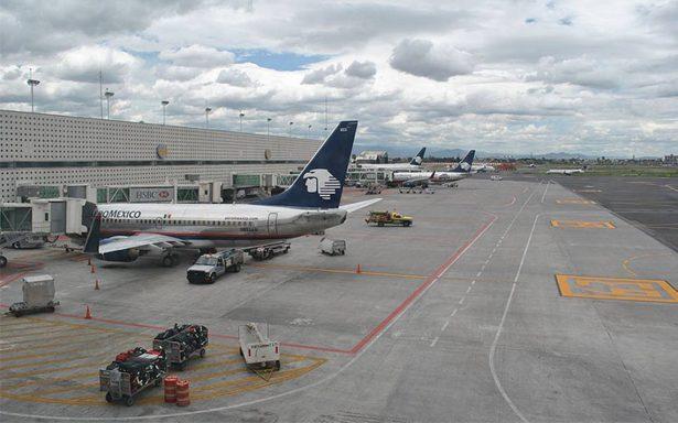 Aeropuerto capitalino reanuda operaciones de aterrizaje