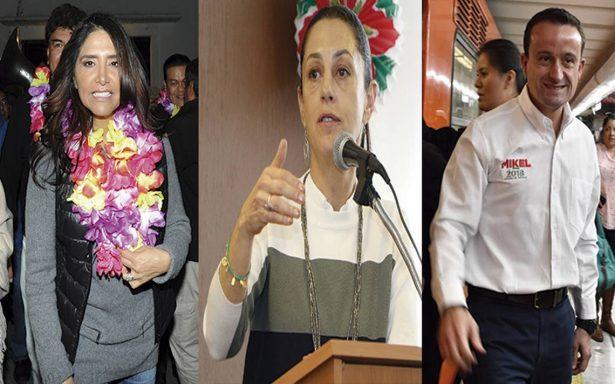 Propuestas, promesas y metas de los aspirantes a jefe de gobierno
