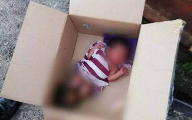 Abandonan a bebé en una azotea en la Miguel Hidalgo