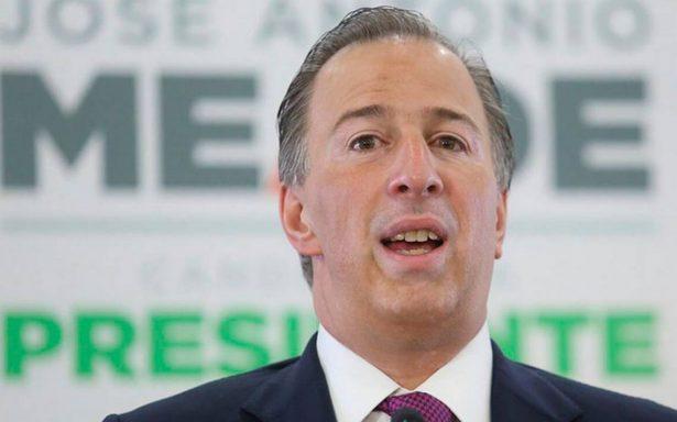 Meade ganó más de 13 mdp como funcionario de Peña Nieto