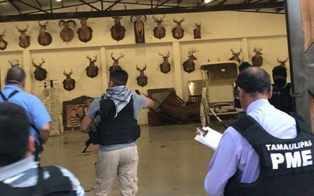 Catean rancho vinculado Eugenio Hernández, exgobernador de Tamaulipas
