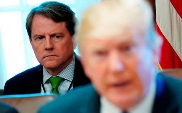 Trump arremete contra NYT por informe sobre abogado de Casa Blanca y el Rusiagate