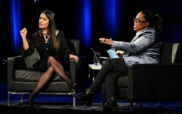 Weinstein amenazó con romperme las rodillas, revela Salma Hayek