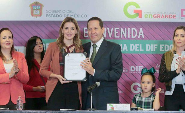 Asume María Irene Dipp de Ávila presidencia honoraria del DIFEM