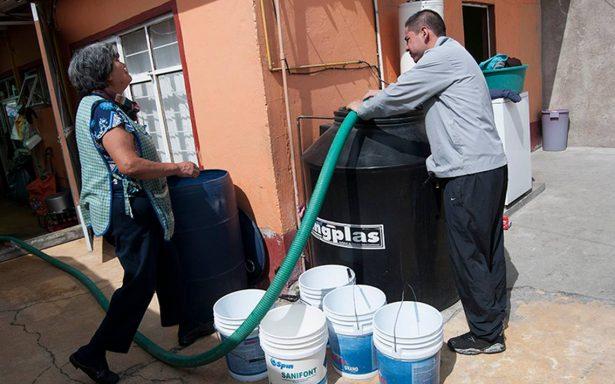 CDMX recibe el año nuevo con solo la mitad del suministro de agua