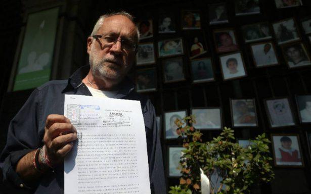 AMLO se equivoca al decir que quiere perdonar delincuentes, asegura Javier Sicilia