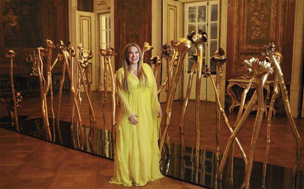 Sonia Falcone interviene el Palacio Nacional de Lisboa