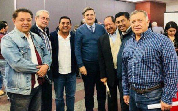 Marcelo Ebrard se suma a Morena para impulsar a AMLO