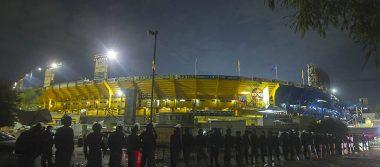 Freno a barristas tras enfrentamiento entre aficionados de Tigres y Rayados