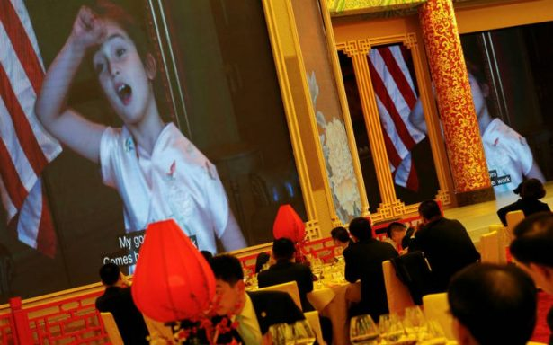 '¡Es tan linda!', China sucumbe al encanto de la nieta de Trump
