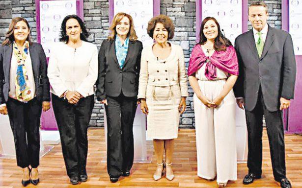 Claudia Sheinbaum, fue la protagonista del debate entre los candidatos a la alcaldía