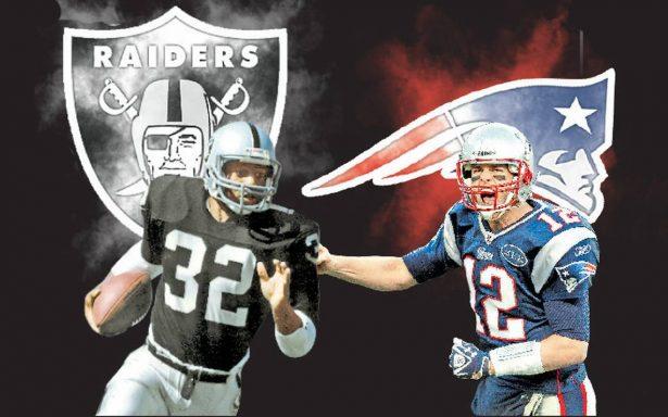 Raiders y Patriotas, dos equipos con mucha historia