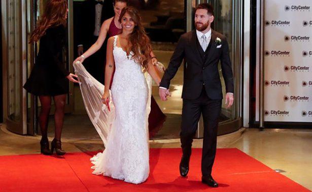 ¡Messi ya se casó! Así fue la boda del año en Argentina