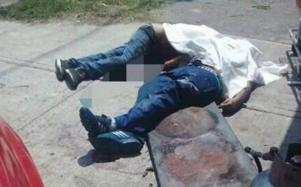 Balacera en Iztapalapa  deja tres muertos