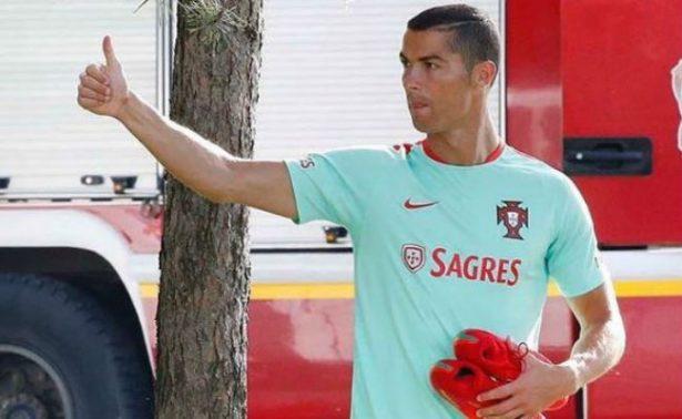 Ronaldo se va de vacaciones tras eliminación de Portugal