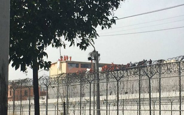 Reos protestan también en penal de Apodaca