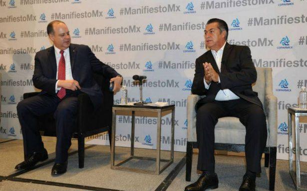 """""""Voten por Andrés Manuel pero luego no se lamenten"""", dice El Bronco a empresarios"""